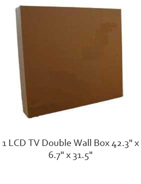 LCD TV Box for upto a 48